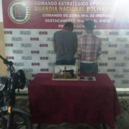 Diario Frontera, Frontera Digital,  GNB EL VIGÍA, Sucesos, ,GNB desmantelo banda 'El Guajiro' en El Vigía