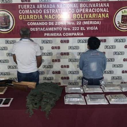 Diario Frontera, Frontera Digital,  DRIOGA EN ALBERTO ADRIANI, Sucesos, ,GNB incautó 9 kilos de cocaína enterradas en Guarurie Alberto Adriani