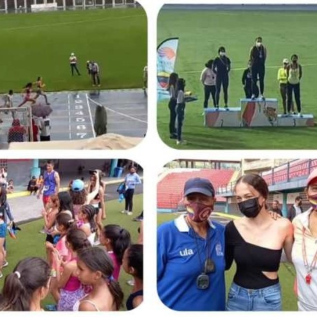 Diario Frontera, Frontera Digital,  Ainhoa Rengifo, 100 metros planos, Deportes, ,Ainhoa Rengifo primera atleta merideña en ganar la prueba reina del atletismo