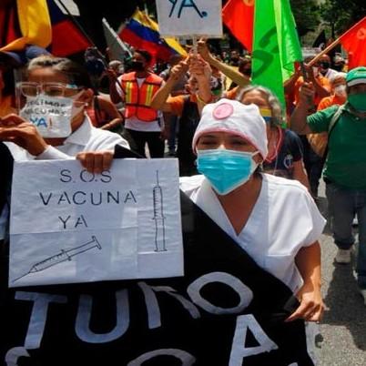 Diario Frontera, Frontera Digital,  PERSONAL DE SALUD, Nacionales, ,Personal sanitario exige vacunación masiva en Caracas