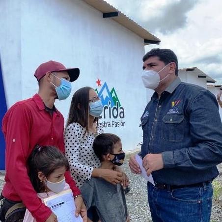 Diario Frontera, Frontera Digital,  jehyson guzmán, viviendfas, mérida, gmvv, Regionales, ,Gobierno Bolivariano llega a las 115 mil viviendas entregadas en Mérida