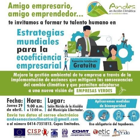 """Diario Frontera, Frontera Digital,  ALCALDÍA DE MÉRIDA, Regionales, ,Invitan al taller de """"Estrategias mundiales para la ecoeficiencia empresarial"""""""