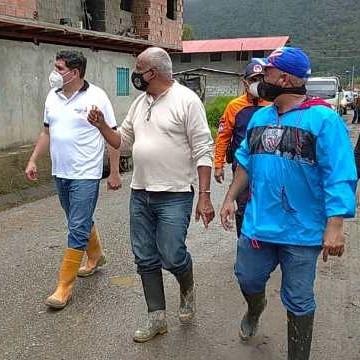 Diario Frontera, Frontera Digital,  ALCALDÍA DE CAMPO ELÍAS, Regionales, ,Gobierno Bolivariano en Mérida desplegó maquinaria  para limpieza de vías obstruidas por lluvias