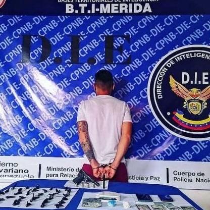 """Diario Frontera, Frontera Digital,  DIE MÉRIDA, Sucesos, ,DIE MÉRIDA CAPTURÓ AL """"FLACO""""  CON COCAÍNA Y CRISPY"""