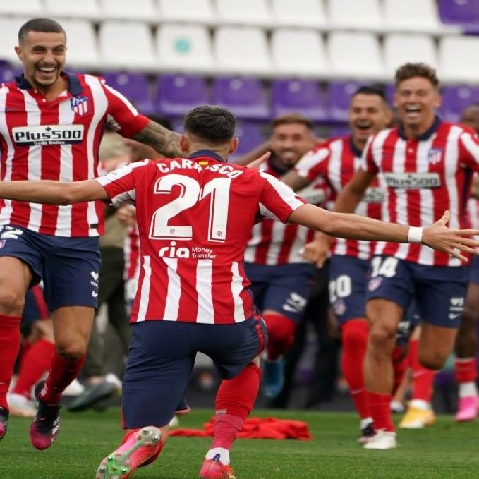 Diario Frontera, Frontera Digital,  ATLÉTICO DE MADRID, Deportes, ,El Atlético de Madrid se consagra campeón de LaLiga española