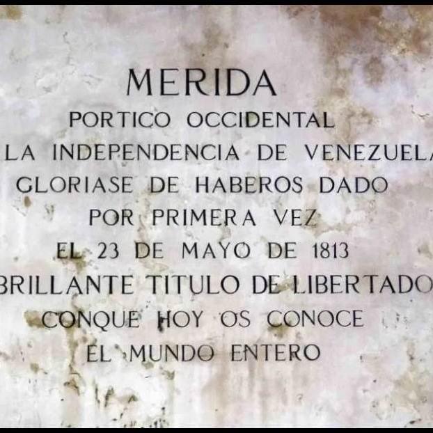 """Diario Frontera, Frontera Digital,  23 de mayo de 1813, ALCIDES MONSALVE, ALCALDÌA DE MÉRIDA, Regionales, ,Alcides Monsalve Cedillo: """"Hace 208 años los merideños  proclamamos Libertador a Simón Bolívar"""""""