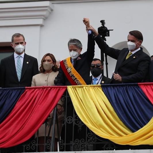 Diario Frontera, Frontera Digital,  GUILLERMO LASSO, PRESIDENTE DE ECUADOR, Internacionales, ,Guillermo Lasso se estrena como presidente de Ecuador  con un mensaje de cambio de era