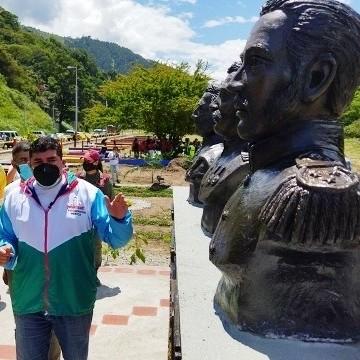 Diario Frontera, Frontera Digital,  parque Bicentenario de la Batalla de Carabobo, EJIDO, TROMERCA, Regionales, ,Inauguran parque Bicentenario de la Batalla de Carabobo en Ejido