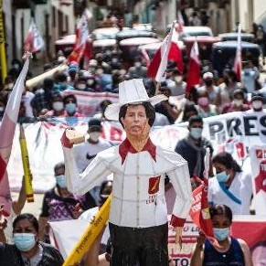 Diario Frontera, Frontera Digital,  PERÚ, ELECCIONES, CAMPAÑA, Internacionales, ,Castillo pasa a liderar escrutinio en Perú  pero la tendencia puede variar