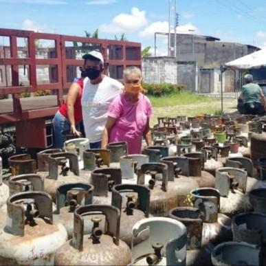 Diario Frontera, Frontera Digital,  NEVADO GAS, Panamericana, ,Nevado Gas realizó atención generalizada en el municipio Andrés Bello