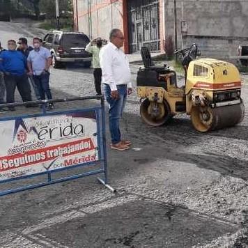 Diario Frontera, Frontera Digital,  ALCALDÍA DE MÉRIDA, Regionales, ,Alcaldía  de Mérida arrancó  Plan Permanente de Bacheo en sector La Otra Banda