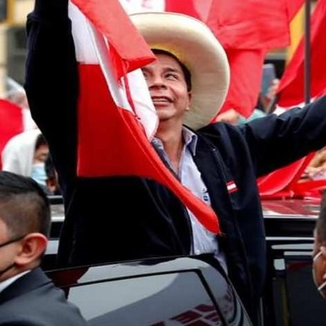 Diario Frontera, Frontera Digital,  PEDREO CASTILLO, ELECCIONES EN OPERÚ, Internacionales, ,Castillo lidera las elecciones con el 100 % de las actas procesadas