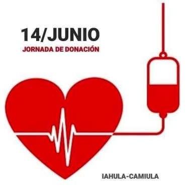 Diario Frontera, Frontera Digital,  Día Mundial del Donante de Sangre, Salud, ,El Iahula conmemorará Día Mundial del Donante de Sangre