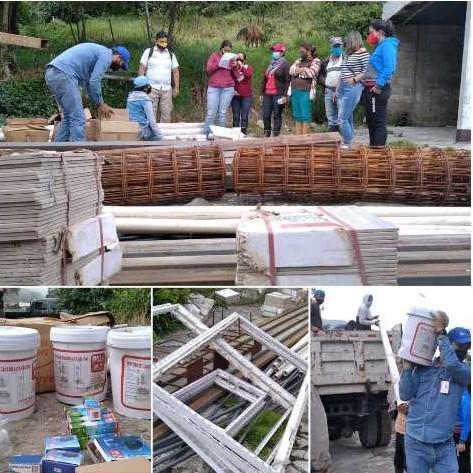 Diario Frontera, Frontera Digital,  FAMILIA, RIVAS DÁVILA, Mocoties, ,Familia de Rivas Dávila con pérdida total de su vivienda por lluvias  recibió materiales para construir una nueva