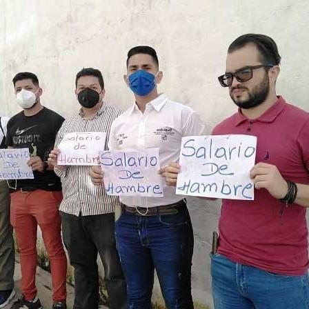 Diario Frontera, Frontera Digital,  UNT, MÉRIDA, SALARIO DE HAMBRE, Politica, ,Sueldos y salarios dignos exigieron  dirigentes de UNT Mérida para los trabajadores