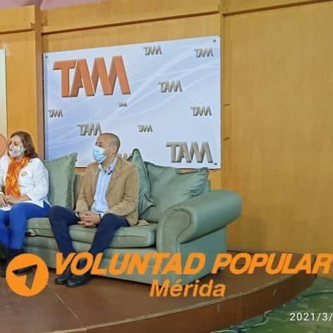 """Diario Frontera, Frontera Digital,  VOLUNTAD POPULAR, MÉRIDA, Politica, ,Franki Márquez: """"Nos encontramos desplegados desde Mérida  llevando el mensaje del Acuerdo de Salvación Nacional"""""""