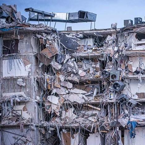Diario Frontera, Frontera Digital,  Champlain Towers South, Internacionales, ,Elsa presiona demolición de ala de edificio colapsado en Miami