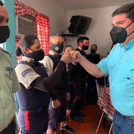 Diario Frontera, Frontera Digital,  POLICÍA VUAL LIBERTADOR, JEHSON GUZMÁN, Regionales, ,Jehyson Guzmán encabezó rehabilitación del comedor de la Policía Vial de Libertador