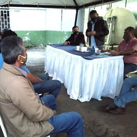 Diario Frontera, Frontera Digital,  RAMÓN GUEVARA JAIMES, Politica, ,Ramón Guevara visitó Unión de Productores de leche de La Azulita