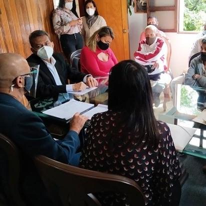 Diario Frontera, Frontera Digital,  Asociación de Jubilados y Pensionados  de la policía, GOBIERNO DE MÉRIDA, Regionales, ,Gobernación de Mérida y Asociación de Jubilados y Pensionados  de la policía establecieron acuerdos