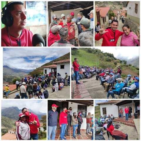 """Diario Frontera, Frontera Digital,  JESÚS ARAQUE, Politica, ,""""Gracias a los habitantes de Los Nevados  pues juntos vamos a protagonizar el cambio"""""""