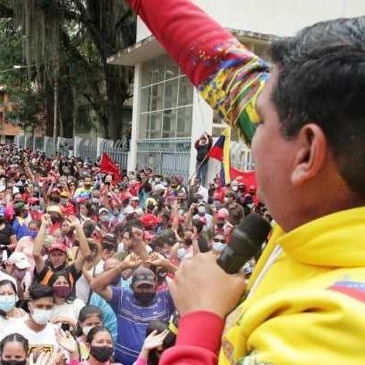 Diario Frontera, Frontera Digital,  jehyson guZMÁN, Regionales, ,Un río de chavistas se desbordó de amor  en la ciudad de Mérida para apoyar a Jehyson Guzmán