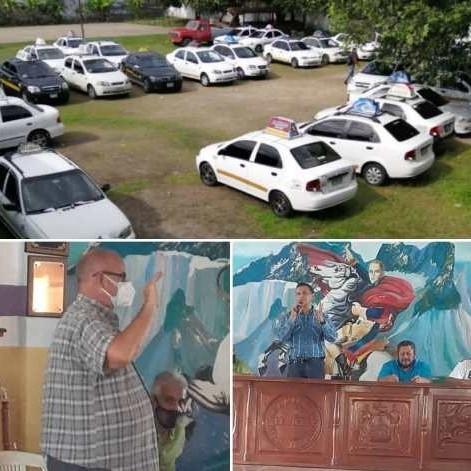 Diario Frontera, Frontera Digital,  LÍNEAS DE TAXIS UNIFICADAS, Panamericana, ,MANUEL GARCÍA ASUMIÓ PRESIDENCIA DE LÍNEAS UNIFICADAS DE TAXIS EL VIGÍA