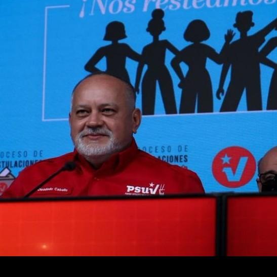 Diario Frontera, Frontera Digital,  DIOSDADO CABELLO, Politica, ,Diosdado Cabello: La unidad perfecta  está garantizada para el 21 de noviembre