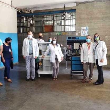 Diario Frontera, Frontera Digital,  IAHULA, Salud, ,Gestiones de Ramón Guevara logran máquina de anestesia para el Iahula