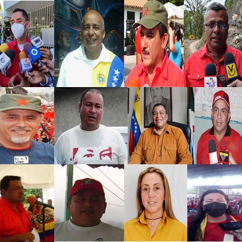 Diario Frontera, Frontera Digital,  CANDIDATOS PSUV, Politica, ,PSUV –Mérida   tiene listo sus 23 candidatos alcaldes para este 21N