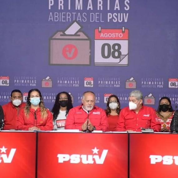 Diario Frontera, Frontera Digital,  PSUV, Politica, ,PSUV evaluará candidaturas en ocho estados  por no alcanzar los parámetros en primarias