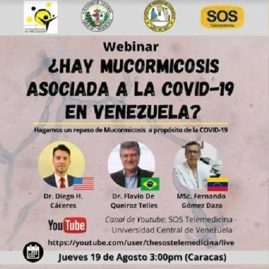 Diario Frontera, Frontera Digital,  HONGO NEGRO, Salud, ,Micólogo informa sobre cuatro casos  de hongo negro en Venezuela asociados al COVID-19