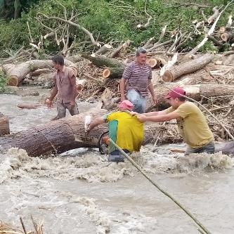 Diario Frontera, Frontera Digital,  ALCALDÍA DE PINTO SALINAS, Mocoties, ,Alcaldía de Pinto Salinas comenzó labor de limpieza  y remoción de escombros tras las lluvias