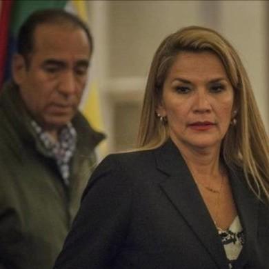 Diario Frontera, Frontera Digital,  JEANINE AÑEZ, Internacionales, ,Gobierno boliviano asegura  que expresidenta Jeanine Áñez intentó lesionarse en prisión