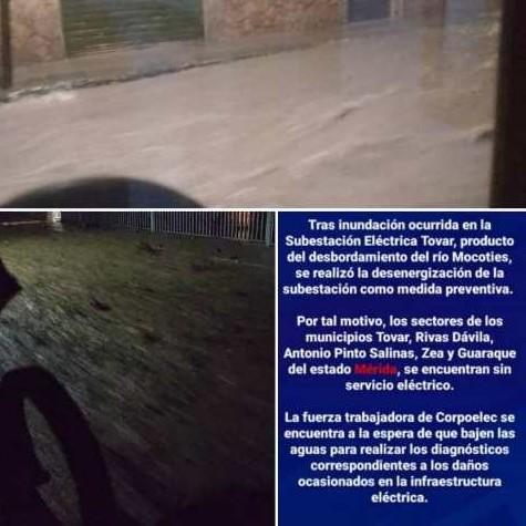 Diario Frontera, Frontera Digital,  LLUVIAS MÉRIDA, Sucesos, ,CUERPOS DE SEGURIDAD ATIENDEN EMERGENCIAS EN TOVAR Y PINTO SALINAS