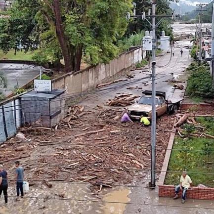 Diario Frontera, Frontera Digital,  SANTA CRUZ DE MORA, Sucesos, ,Dos menores muertos y caos en Santa Cruz de Mora a consecuencia de las lluvias