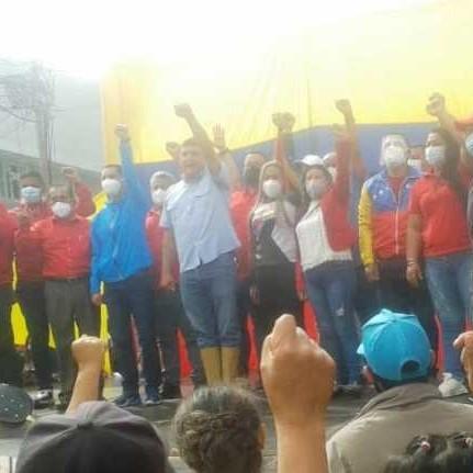 """Diario Frontera, Frontera Digital,  INSCRIPCIÒN CANDIDATOS PSUV, Politica, ,Jehyson Guzmán: """"Desde el Pico Bolívar se escucha un grito que dice, en Mérida gana el PSUV"""""""