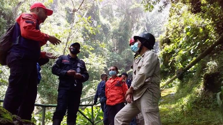 http://www.fronteradigital.com.ve/Protección Civil Mérida inspeccionó el Parque Cascada de la India Carú
