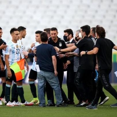 Diario Frontera, Frontera Digital,  FIFA, BRASIL ARGENTINA, Deportes, ,Fifa abrió proceso disciplinario tras suspensión del clásico Brasil-Argentina