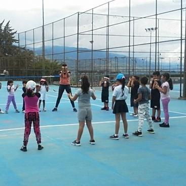 Diario Frontera, Frontera Digital,  clases de tenis, LUIS GHERSY GOVEA, Deportes, ,Invitan a la práctica del tenis en el Polideportivo Luis Ghersi Govea