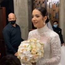 Frontera Digital,  Daniela Alvarado y José Manuel, Farándula,  El momento más emocionante  en la boda de Daniela Alvarado y José Manuel