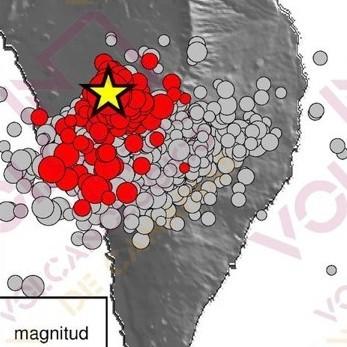 Diario Frontera, Frontera Digital,  VOLCÁN EN LAS PALMAS, ESPAÑA, Internacionales, ,Erupción en La Palma, columna de ceniza  y lava en la zona de Las Manchas, Cumbre Vieja