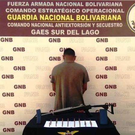Diario Frontera, Frontera Digital,  CONAS, Sucesos, ,CONAS CAPTURÓ A CIUDADANO POR FABRICAR  Y ENSAMBLAR  ARMAMENTO DE GUERRA EN COLÓN-ZULIA