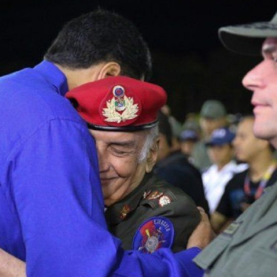 Diario Frontera, Frontera Digital,  FALLECIÓ PÉREZ ARCAY, Nacionales, ,Presidente Nicolás Maduro lamenta  fallecimiento del General en Jefe Jacinto Pérez Arcay