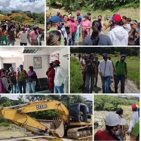 Diario Frontera, Frontera Digital,  JESÚS ARAQUE, Regionales, ,Iniciaron trabajos de canalización del río Albarregas  y quebrada Carvajal en la comunidad El Esfuerzo