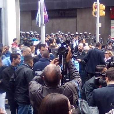 Diario Frontera, Frontera Digital,  GNB, Politica, ,GNB bloquea inmediaciones de la Asamblea Nacional