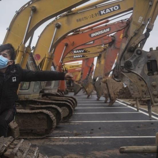 Diario Frontera, Frontera Digital,  HOSPITAL DE WUHAN, Salud, ,Viaje al hospital que Wuhan construye en 10 días