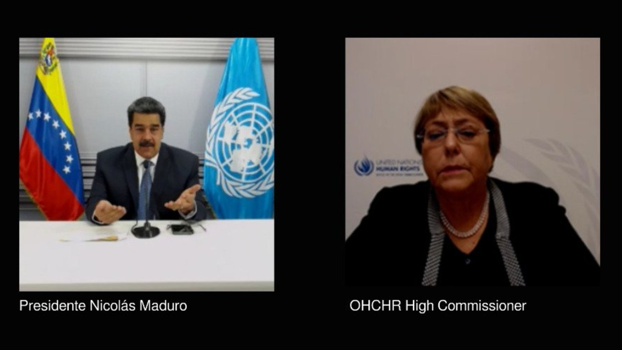 Diario Frontera, Frontera Digital,  NICOLÁS MADURO, MICHELLE BACHELET, Nacionales, ,Presidente Maduro analizó informe  sobre DDHH con Alta Comisionada de la ONU