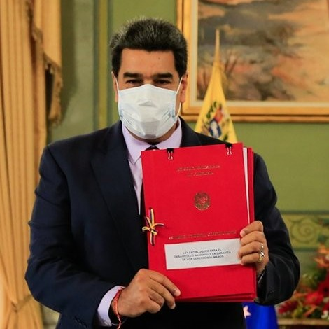 """Diario Frontera, Frontera Digital,  PRESIDENTE MADURO, Nacionales, ,Presidente Maduro recibió Ley Antibloqueo y afirmó que  """"fracasó asedio de EEUU para cambio de Gobierno en Venezuela"""""""