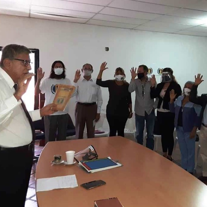 Diario Frontera, Frontera Digital,  CES AD, MÉRIDA, Politica, ,Fue juramentado el CES de AD de Mérida
